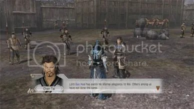 This is what you told me about the Dynasty Warriors.