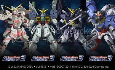 DYNASTY WARRIORS: GUNDAM 3 wall panel