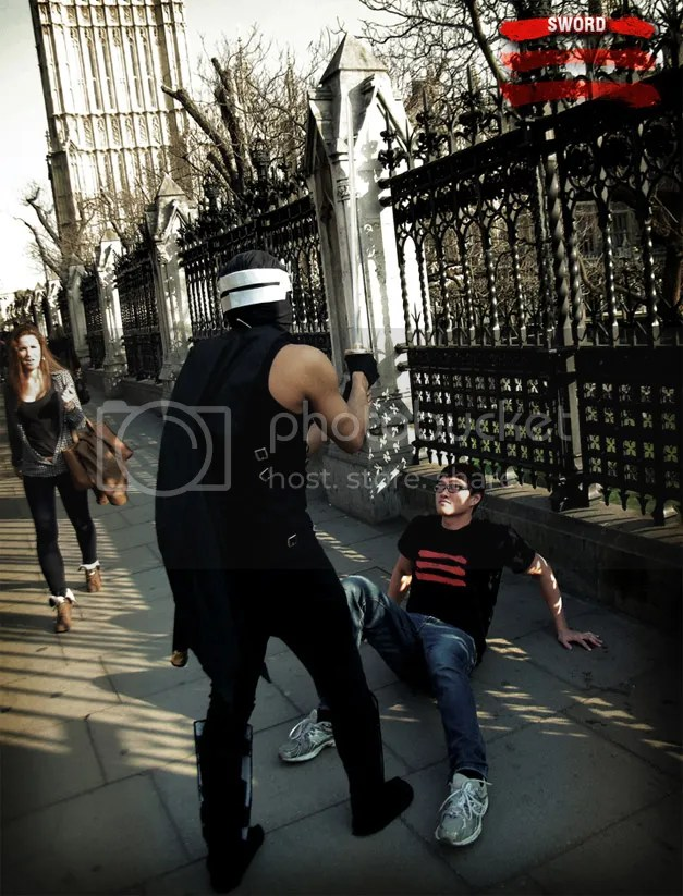 Ninja Gaiden 3 in Real Life