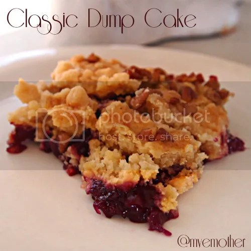 www.myveryeducatedmother.com Classic Dump Cake #recipe #cakes