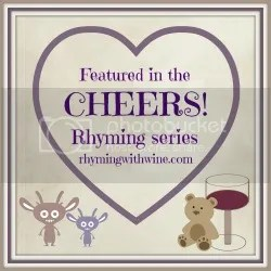 Rhyming with Wine Cheers series logo