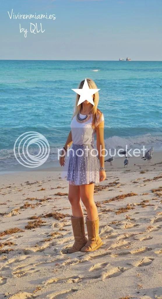 Falda de tul y estrellas