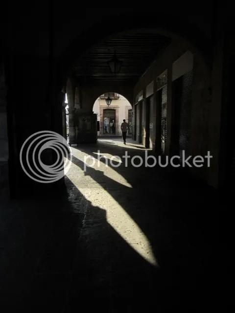 Shadowy archways