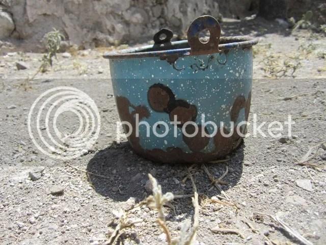 Battered bucket