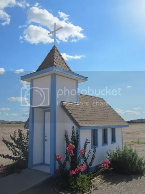 Tiny chapel, Yuma, Arizona