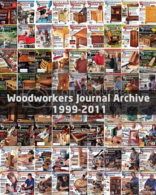 Woodworker's Journal Archive 1999-2011