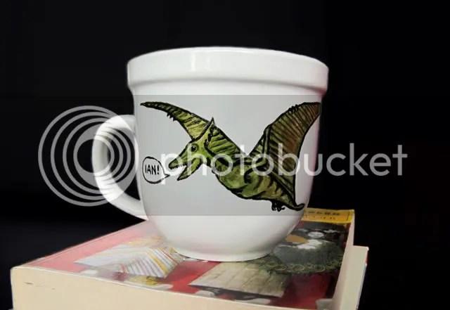 Pterosaur mug by Steph Hayes