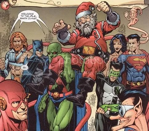 The 6 Greatest Comic Book Santas Henchman 4 Hire