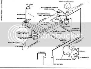 93 Club Car Limit switch wiring