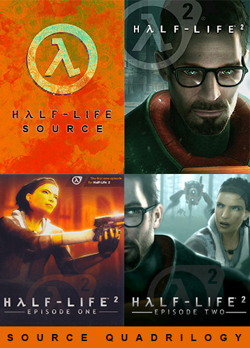 2954c3e1e70fec6e98964faf44dc2f5b - Half-Life: Source Quadrilogy – v09.26.2019 + 4 OSTs