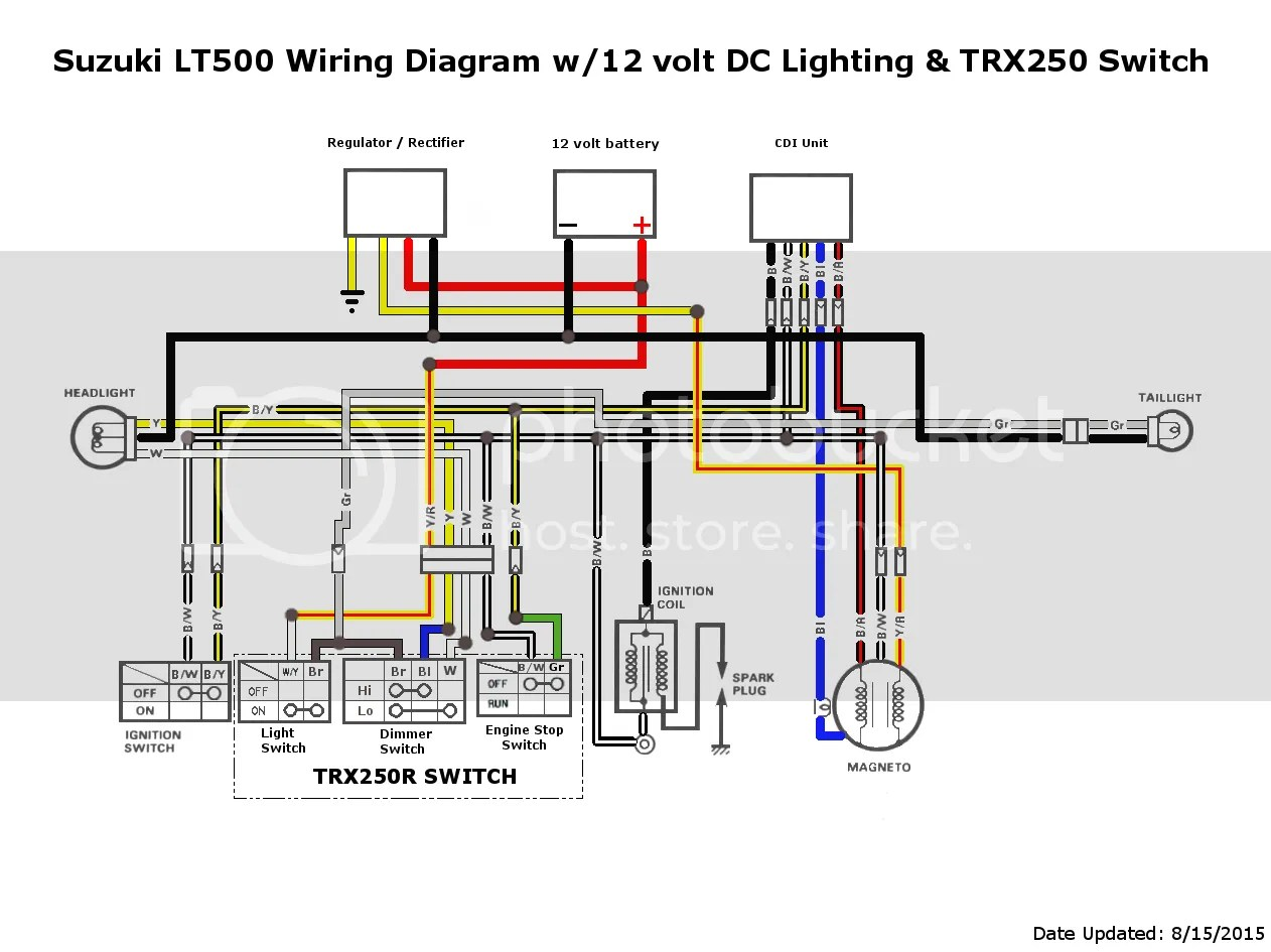 Dc Cdi Wiring Diagram | Machine Repair Manual Dc Cdi Ignition Wiring Diagram on