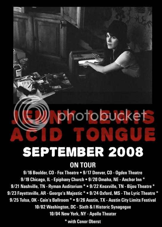 jenny lewis, acid tongue