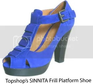 Sinnita Frill Platform shoes