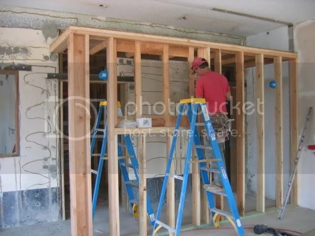 framing the hallway