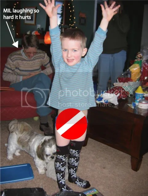 Were totally using this photo to embarass Jack when hes in High School