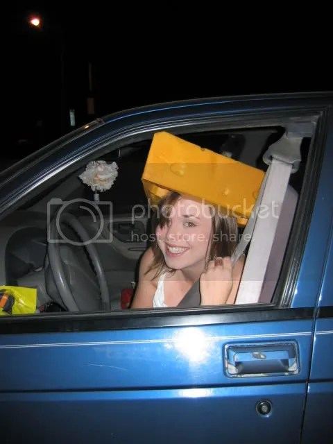 Driving while Cheesy!