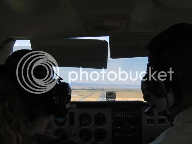 My first landing