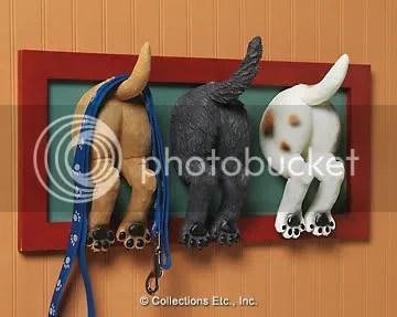 Puppy Butt Wall Hooks