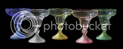 LED Margarita Glasses