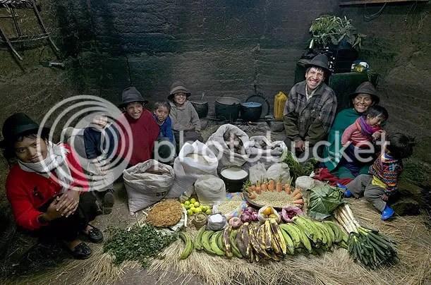 Equador Hungry Planet