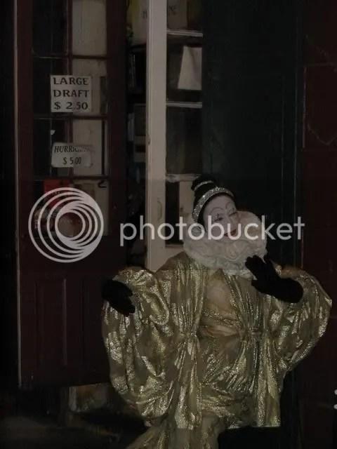 The mime next door