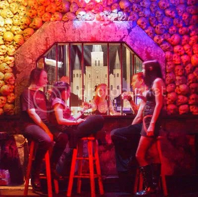 Skull Bar at the Dungeon