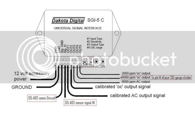 abs signal  dakota digital converter wiring question