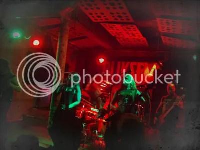 Bliksem live - Stereo, Glasgow