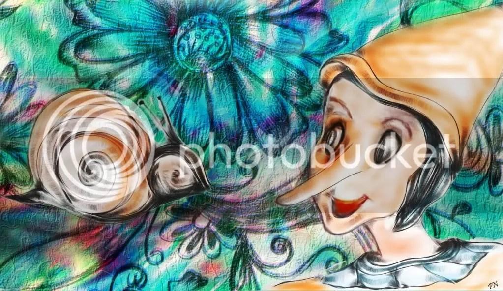 Nofi Patrizia: Pinocchio e la lumaca
