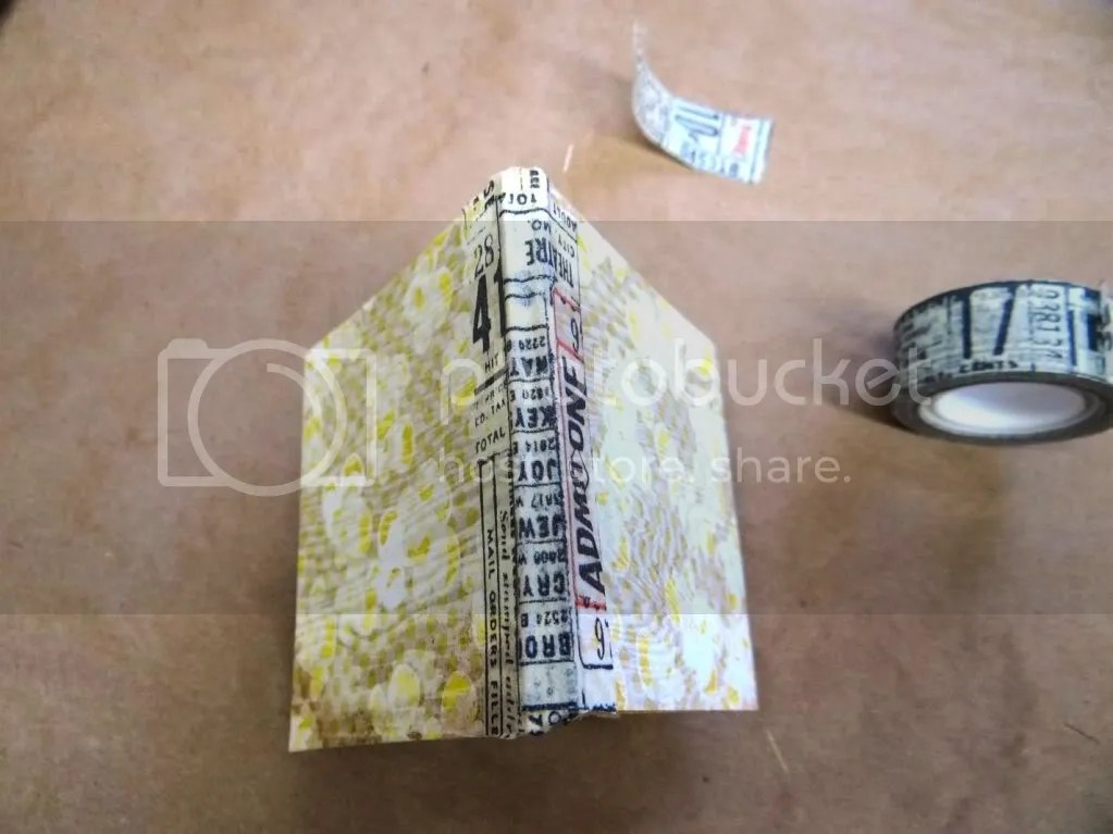 Tissue Tape Book Binding