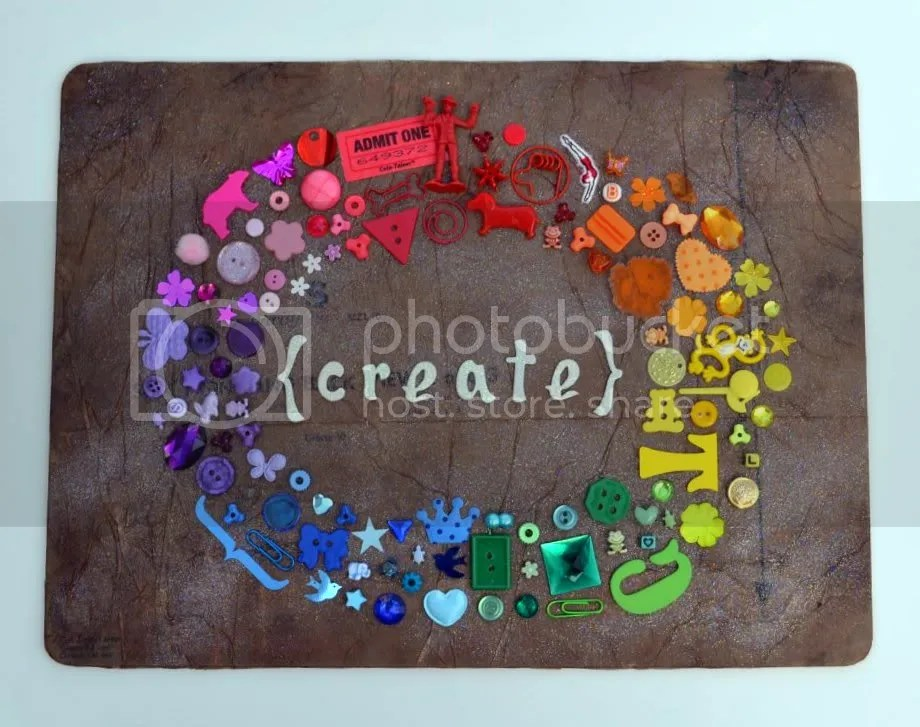 Create Mixed Media Wall Hanging