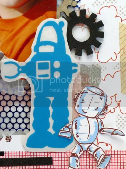Robot Scrapbooking