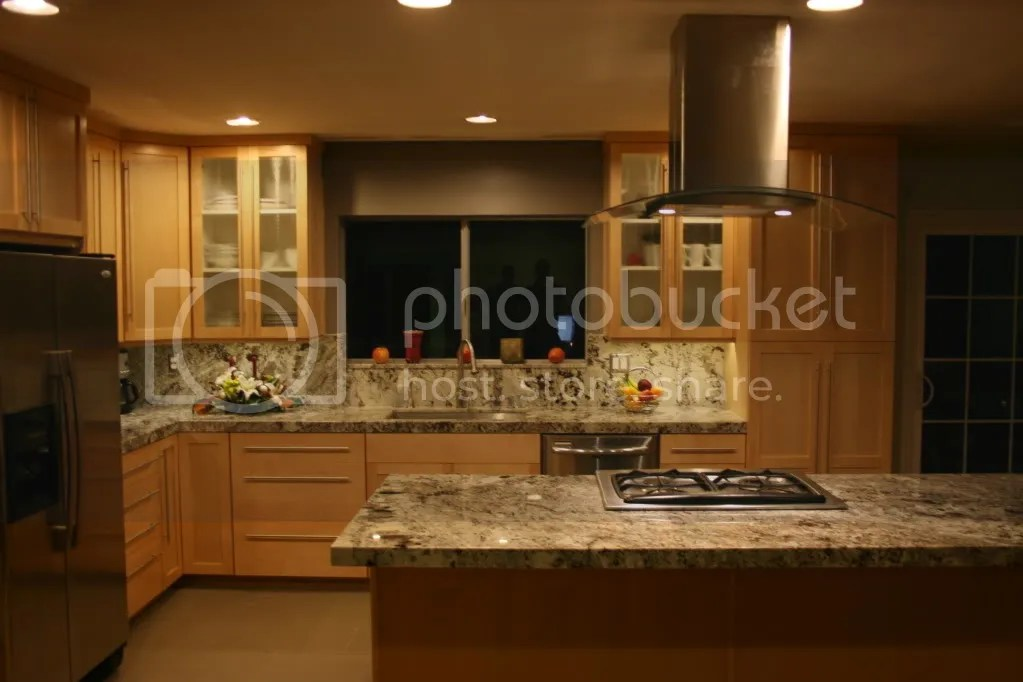 Help me pick a granite! Natural maple cabinets/dark floors on What Color Granite Goes With Honey Maple Cabinets  id=97947