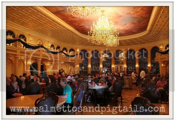 Be Our Guest Restaurant at Magic Kingdom in Disney World