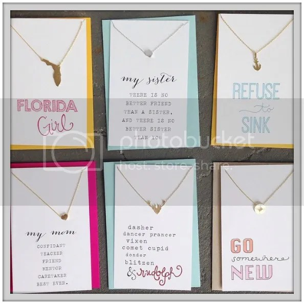 Necklaces from Declaration Boutique in Saint Augustine, Florida