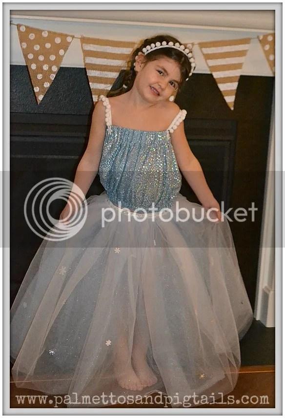 DIY Disney Frozen Elsa Dress Tutorial - Palmettos and Pigtails