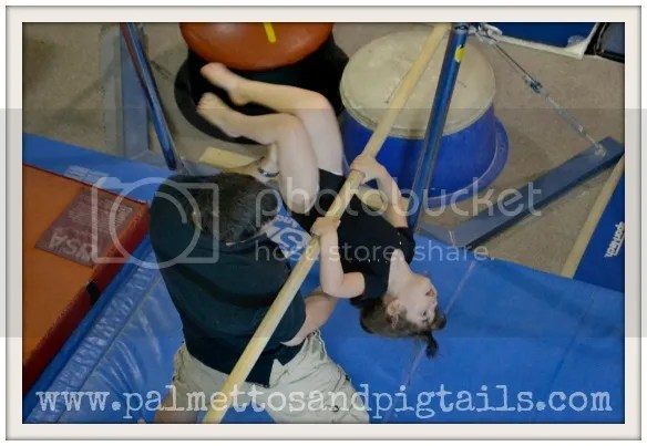 Gymnastics from Palmettos and Pigtails