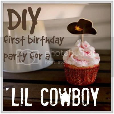 All the details of our son's Cowboy Party themed first birthday. Games, food and decor!