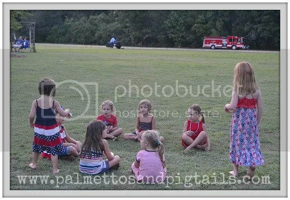 Fourth of July - Palmettos and Pigtails