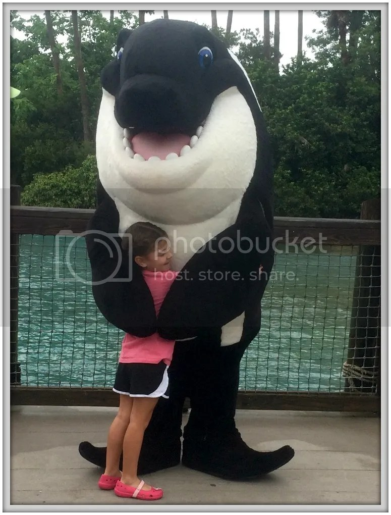 How we celebrated our five year old's birthday at @Seaworld #aquarium #seaworld #birthday