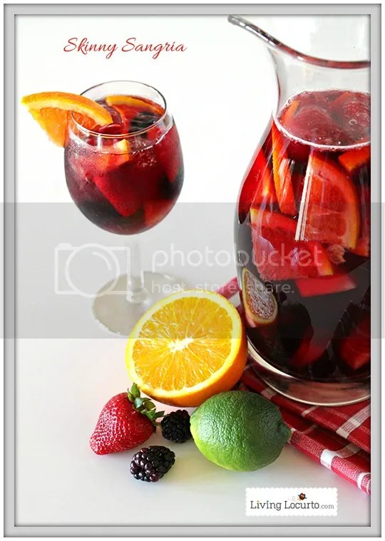 Skinny Sangria: One of Five Ideas for a Girls' Night In