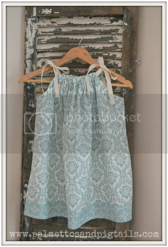 Pillowcase Dress by Palmettos and Pigtails being sold at McAdoodle Consignment