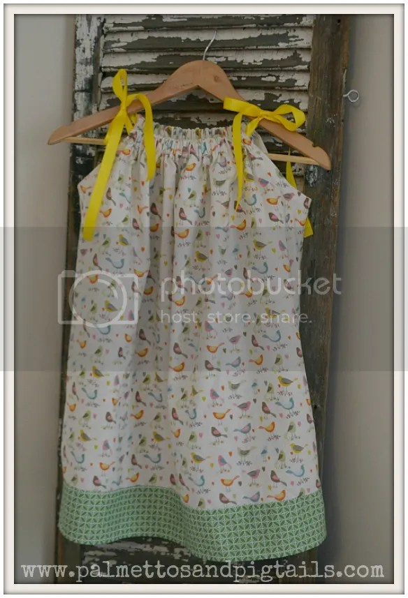 Pillowcase Dress by Palmettos and Pigtails sold at McAdoodle Consignment