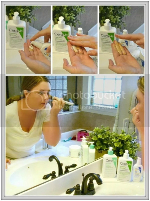 This busy mom's five minute face routine to start the day off right! #CeraVeSkincare #ad #CollectiveBias #cbias #skincare