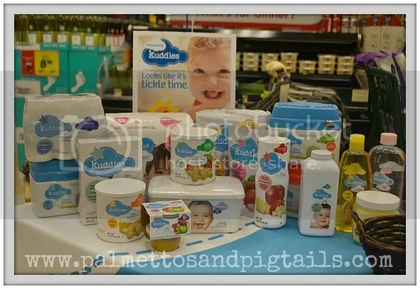 Kuddles Baby Products Giveaway from Bi-Lo and Palmettos and Pigtails