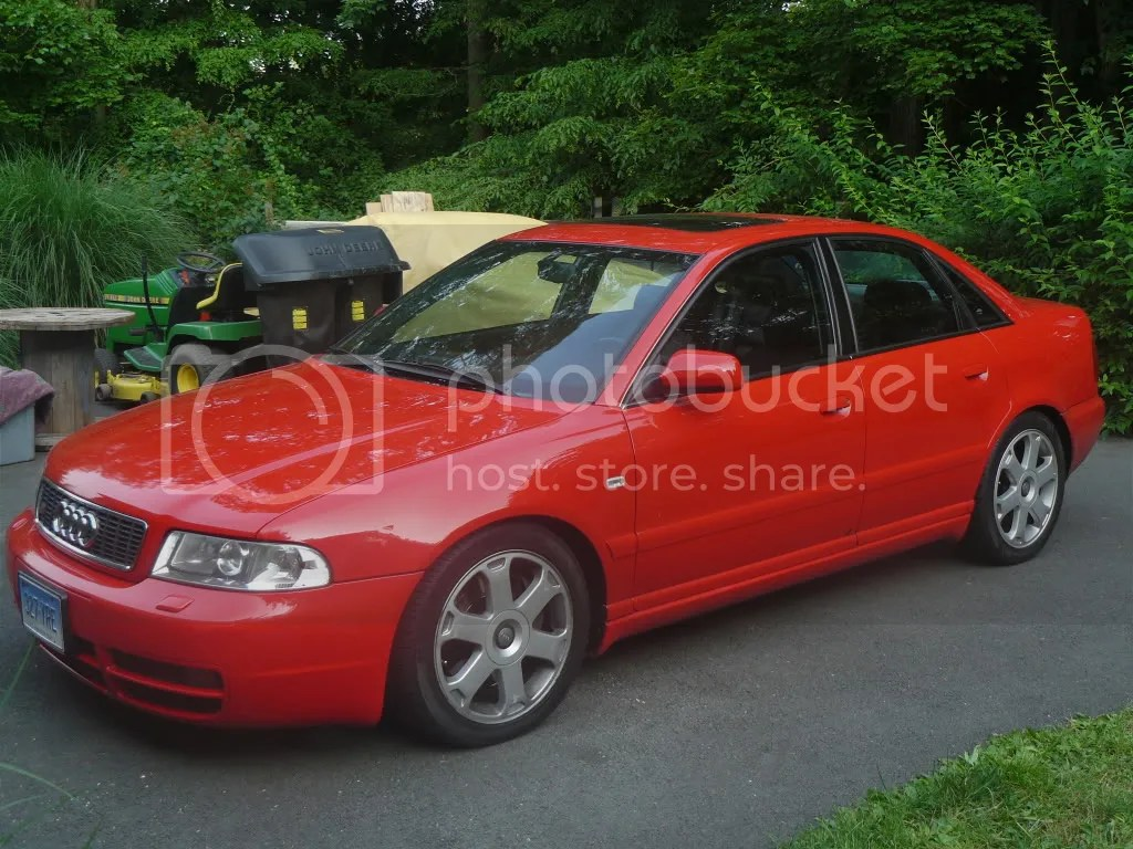 FeelerLazer Red B5 Audi S4 Trade In CT