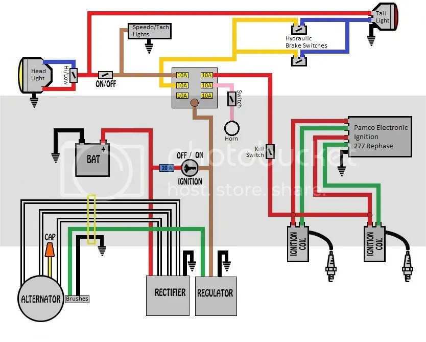 1975 xs650 wiring diagram explained wiring diagrams rh sbsun co Yamaha Diagrams v star 650 wiring schematic