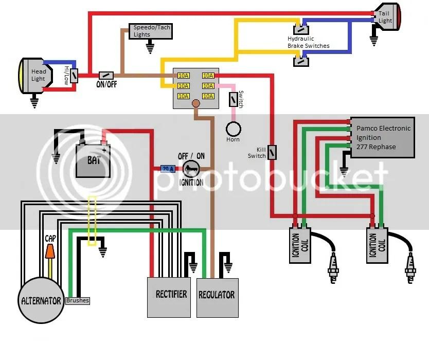 1975 xs650 wiring diagram wire center u2022 rh 66 42 83 38 Yamaha Maxim 650 Chopper Wiring Diagrams 1994 Yamaha 650 Motorcycle Wiring Diagram