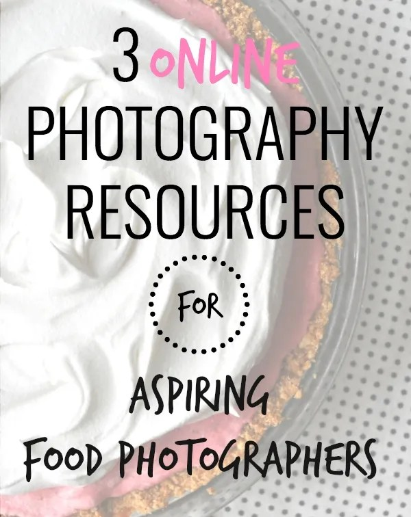 3 online resources for aspiring photographers
