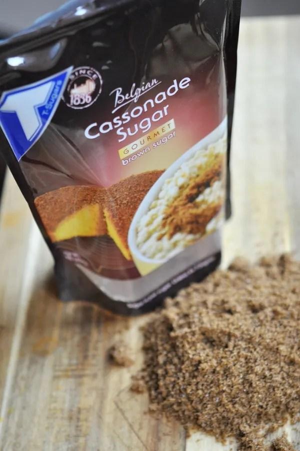 cassonade brown sugar